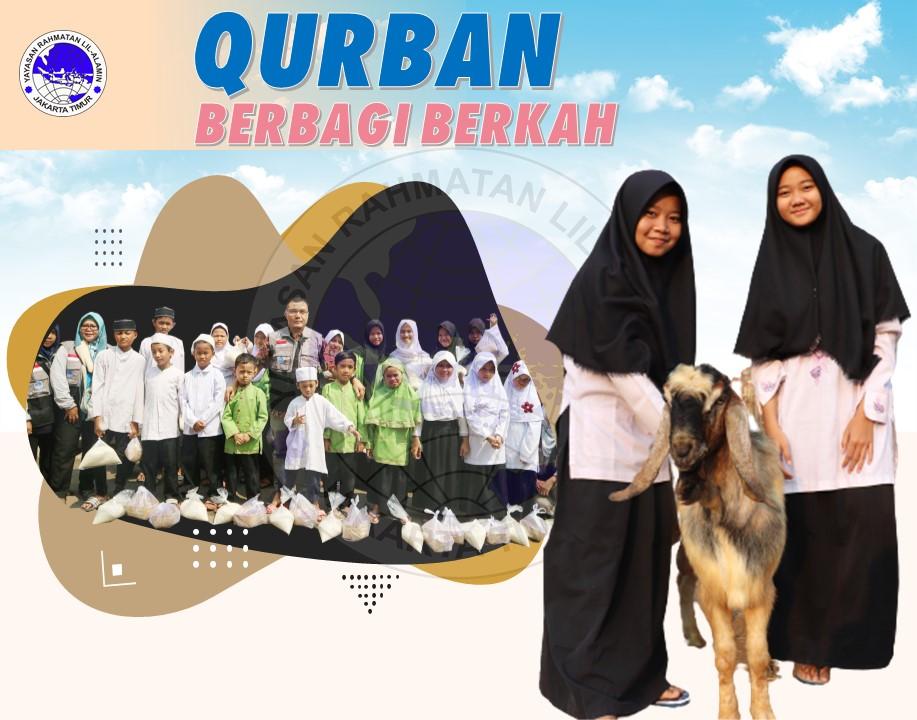 Indonesia berbagi Qurban
