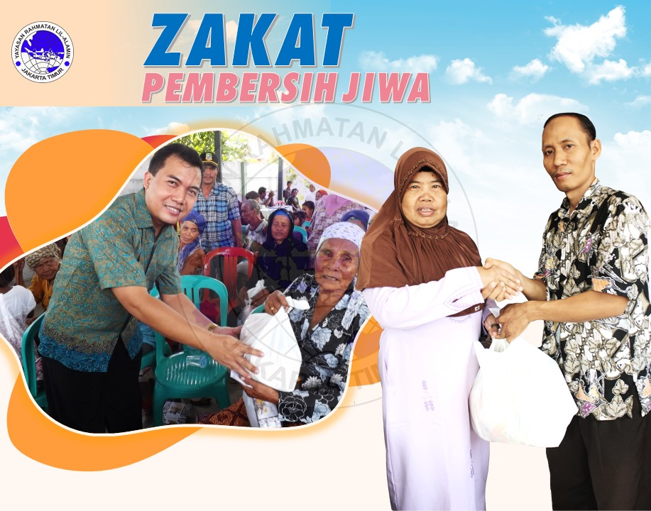 Indonesia berbagi Zakat