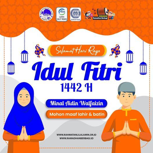 Read more about the article Selamat Hari Raya Idul Fitri 1442 Hijriyah