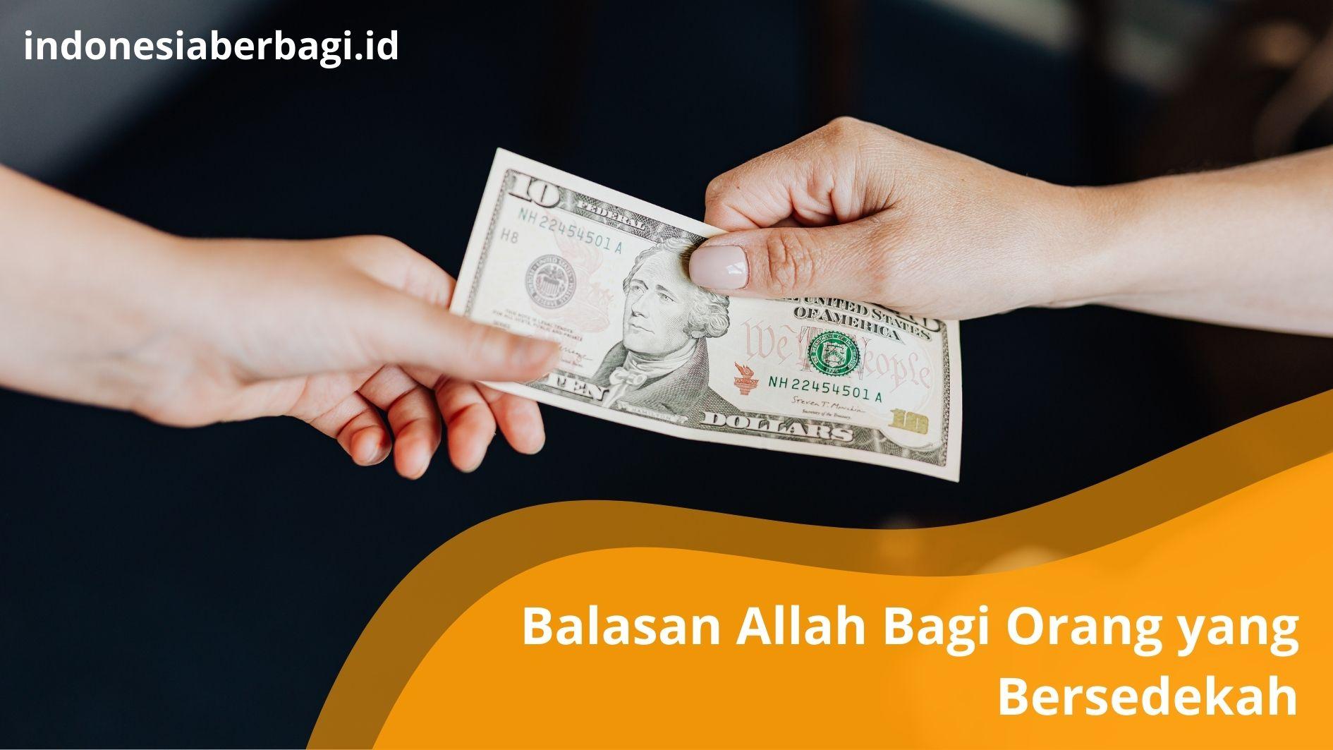 Read more about the article Balasan Allah Bagi Orang yang Rajin Bersedekah